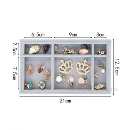 MUMU Style Customize Makeup Drawer Jewelry Tray Necklace Earring Ring Watches Jewellery Accessories Storage Display Tray